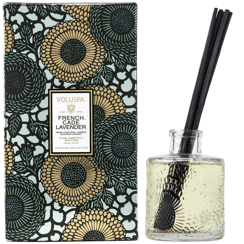 Voluspa Reed Diffuser French Cade Lavender Reed Diffuser