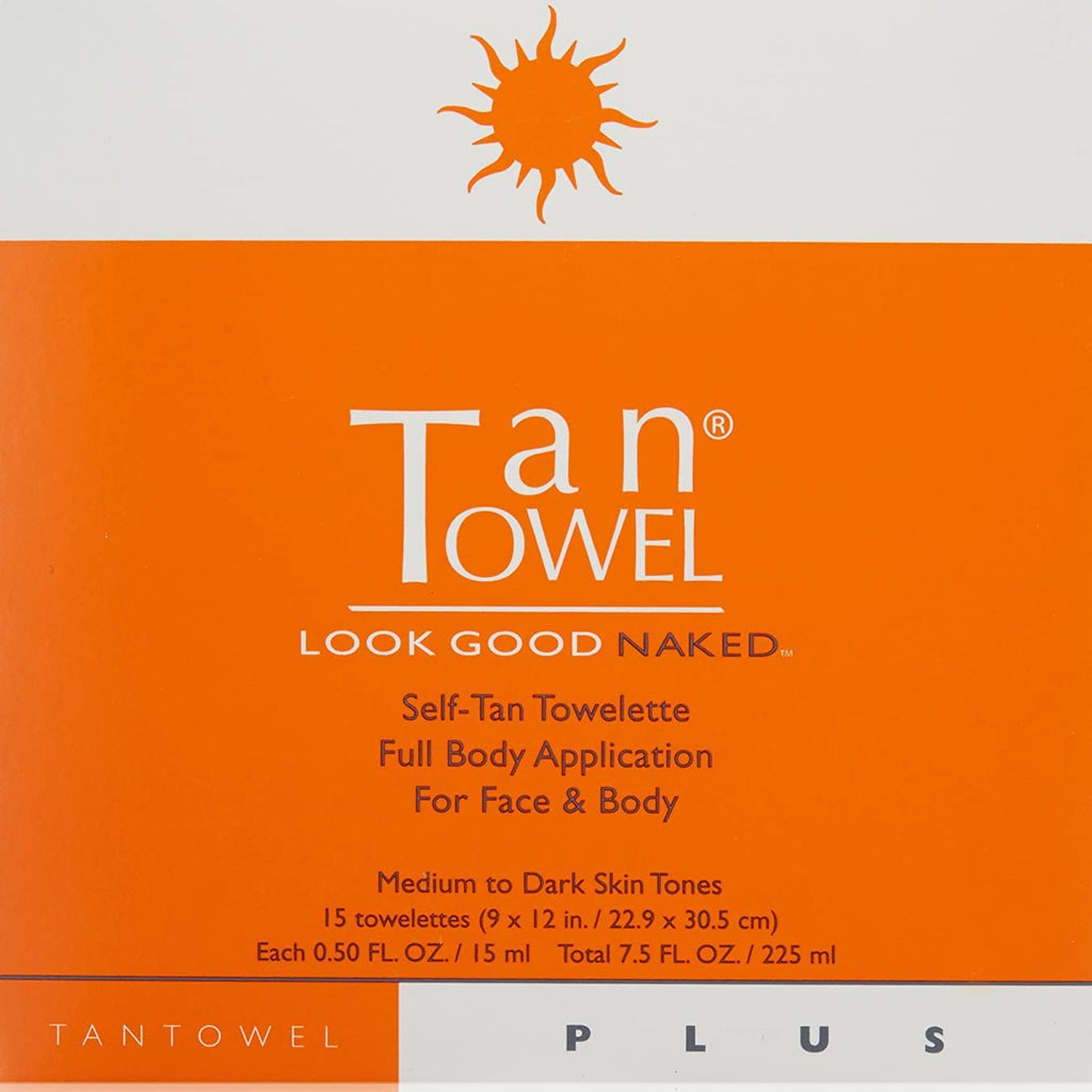 Tan Towel Body Tan Towelettes