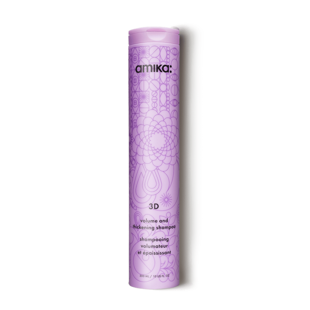 Amika Shampoo 3d volume and thickening shampoo 10 oz