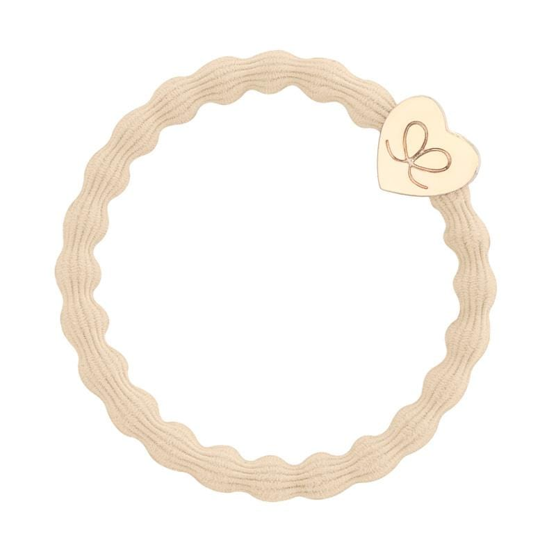 by Eloise LONDON Hair Band Blonde with Gold Heart Hairband with Charm