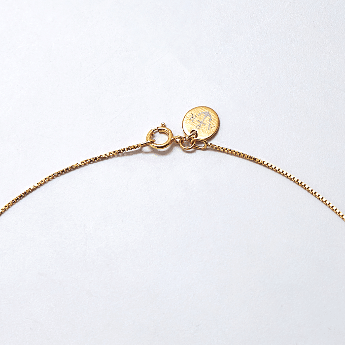 Admiral Row Necklace Gold Rose Bar Pendant Necklace
