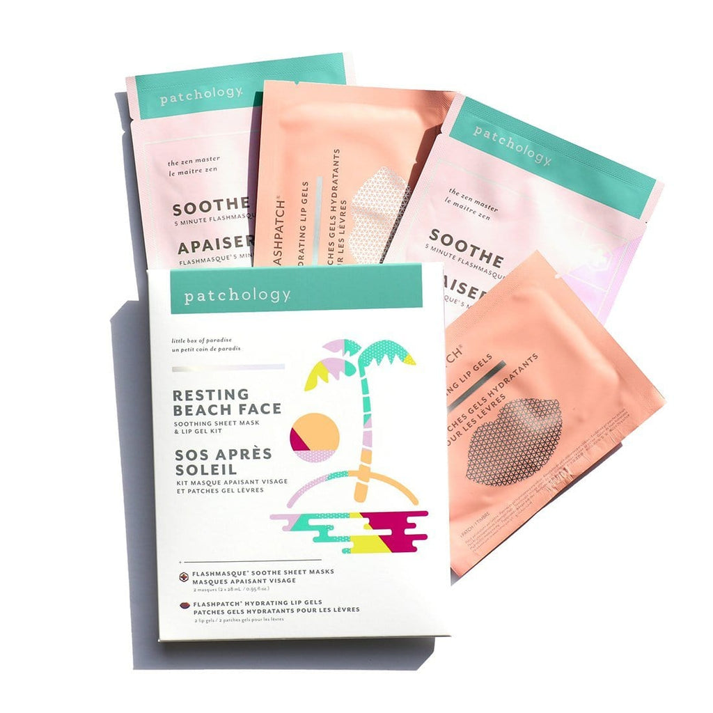 Patchology Pimple Kit Resting Beach Face Kit