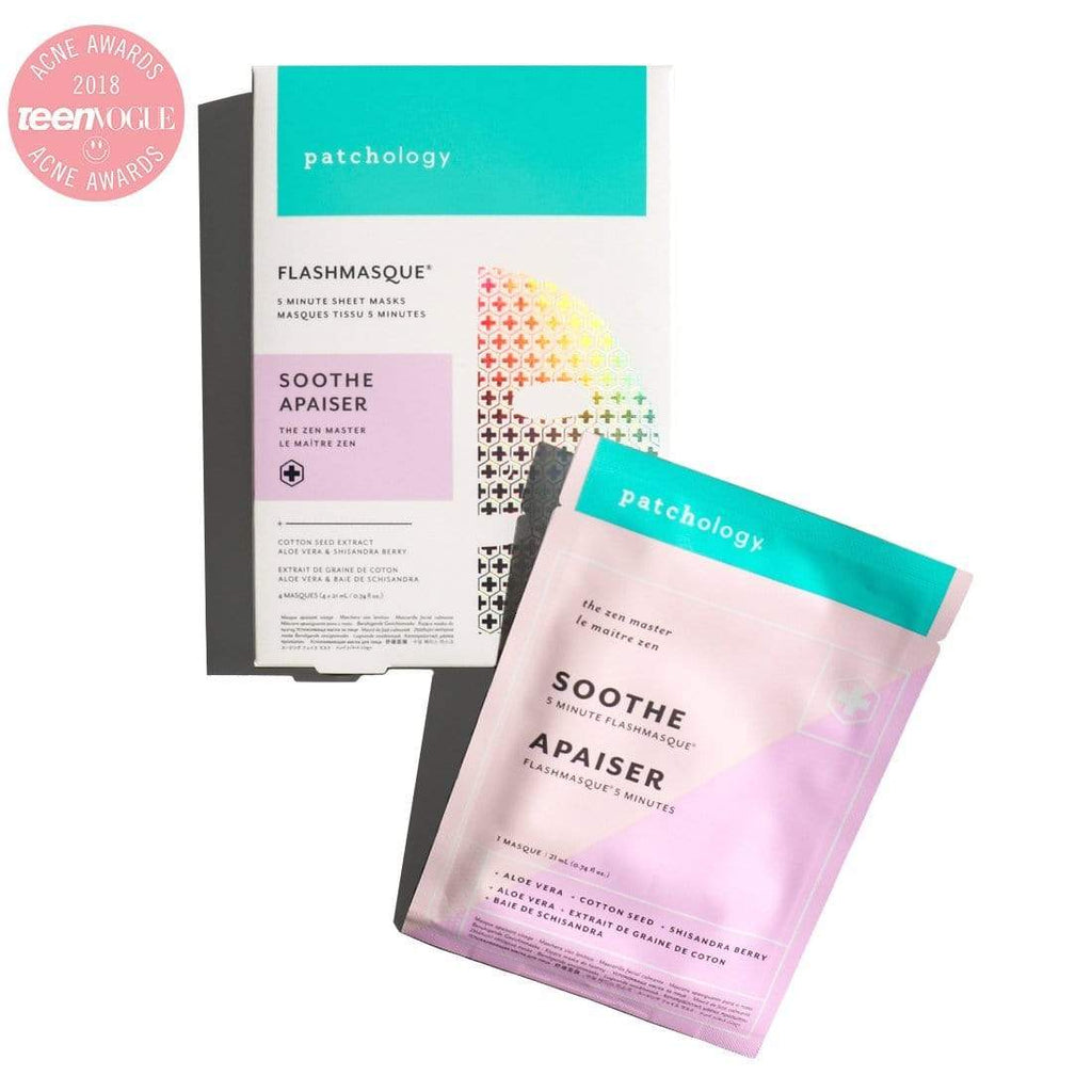 Patchology Mask 4 Pack FlashMasque Soothe Sheet Mask