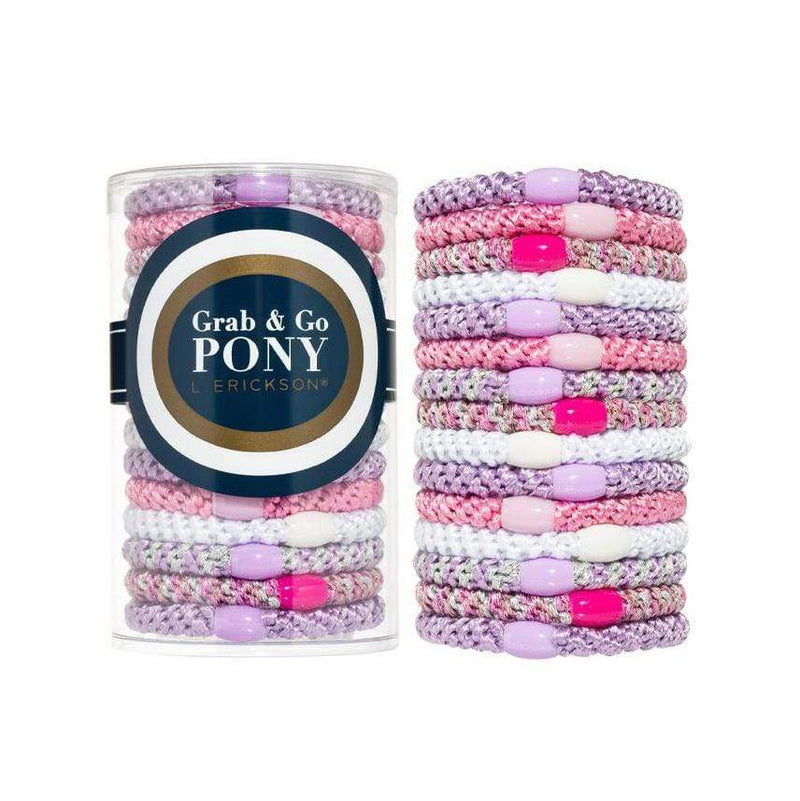 L. Erickson Hair Ties Ballet Grab & Go Pony Tube