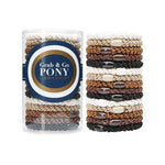 L. Erickson Hair Ties Daily Neutral Grab & Go Pony Tube