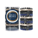 L. Erickson Hair Ties Jet Set Grab & Go Pony Tube