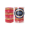 L. Erickson Hair Ties Lipstick Grab & Go Pony Tube