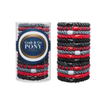L. Erickson Hair Ties Red Haute Grab & Go Pony Tube