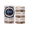 L. Erickson Hair Ties White Chocolate Grab & Go Pony Tube