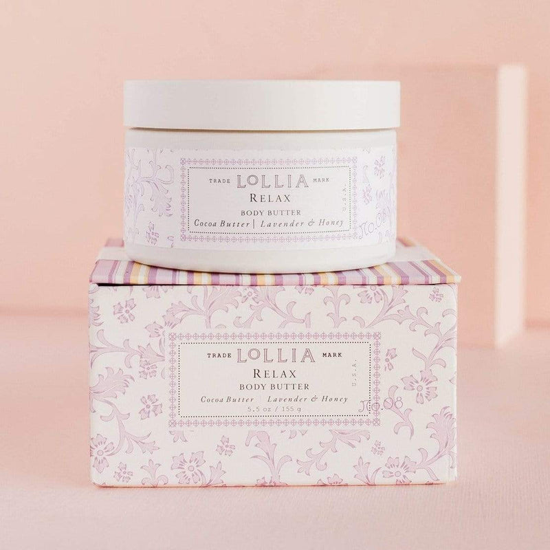 Lollia Body Butter Relax Whipped Body Butter