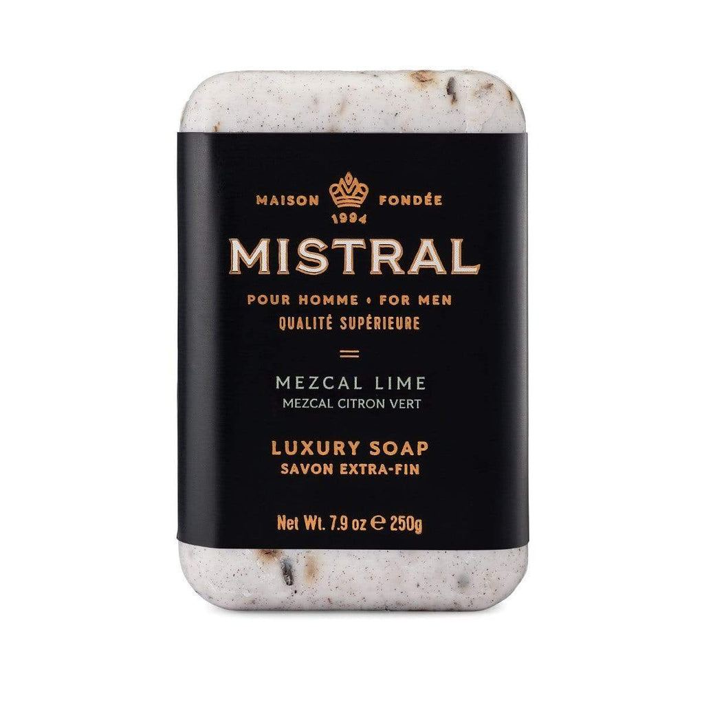 Mistral Soap Bar Mezcal Lime Men's Bar Soap