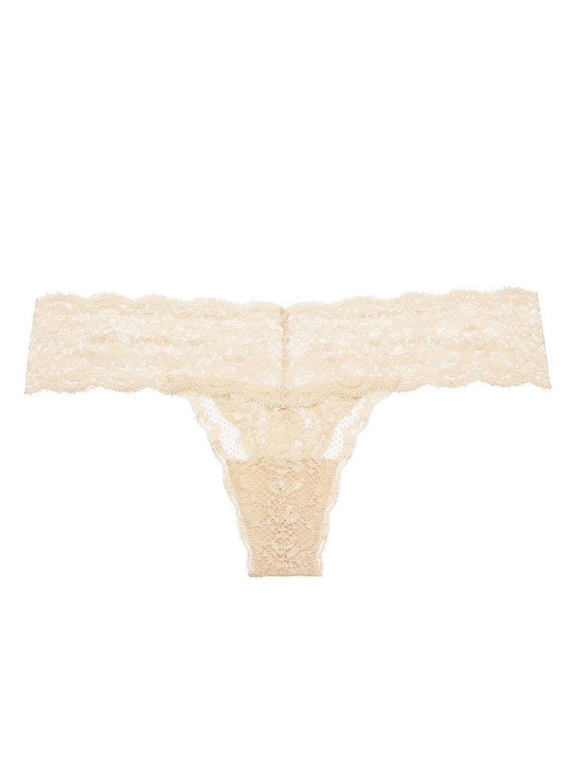Never Say Never Cutie Low Rise Thong One Size