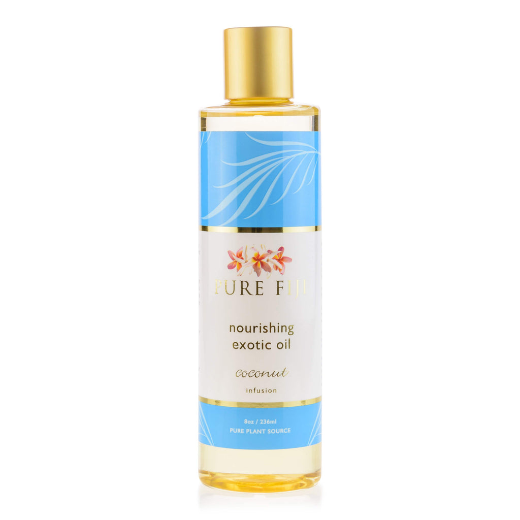 Pure Fiji Body Oil Coconut Nourishing Exotic Oil