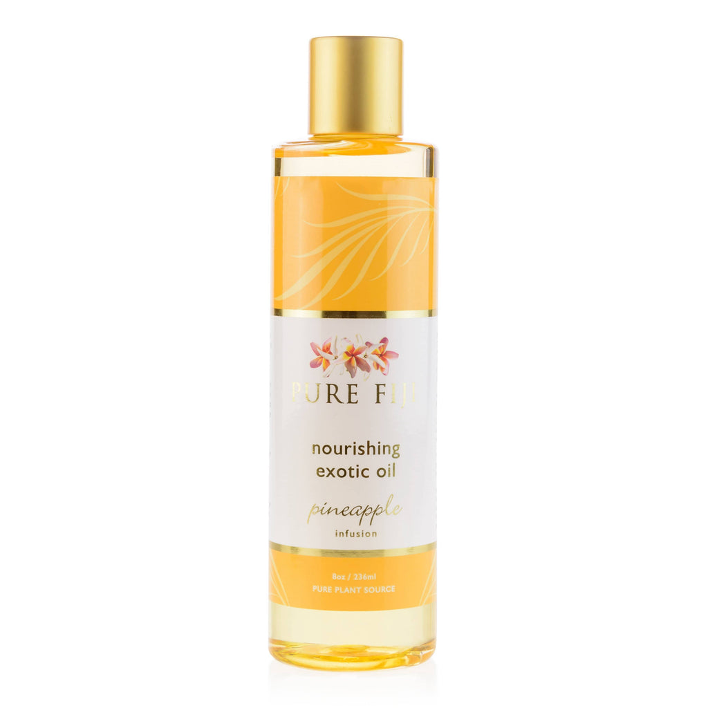 Pure Fiji Body Oil Pineapple Nourishing Exotic Oil
