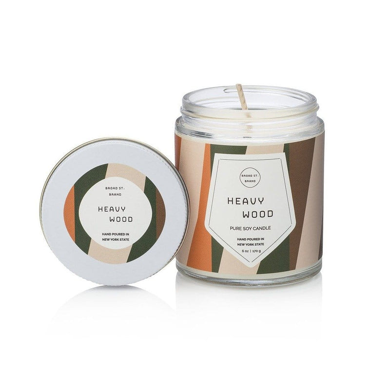Heavy Wood Candle - 6 oz