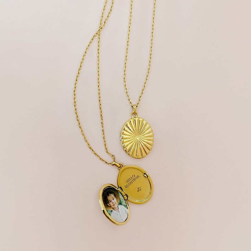 Sugar Blossom Necklace Poppie Locket Necklace