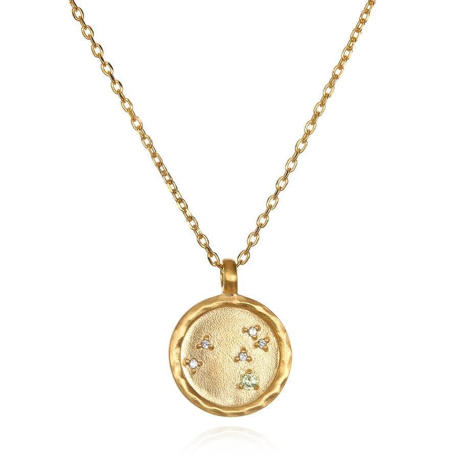 Satya Jewelry Necklace Leo Zodiac Gold Necklace