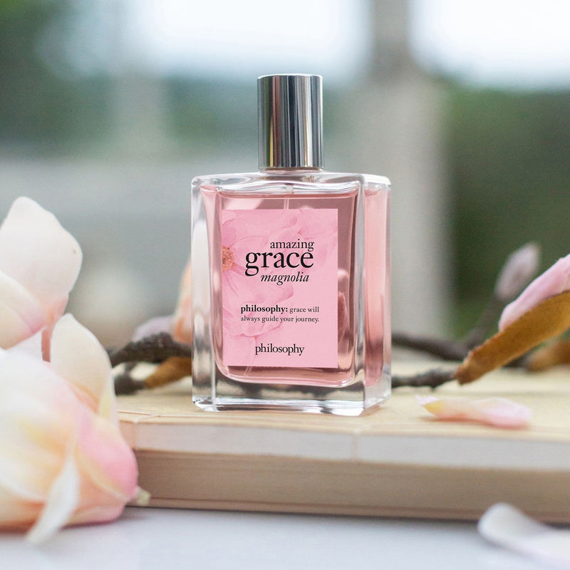Philosophy Fragrance Set at home and on the go Amazing Grace Magnolia Fragrance Duo