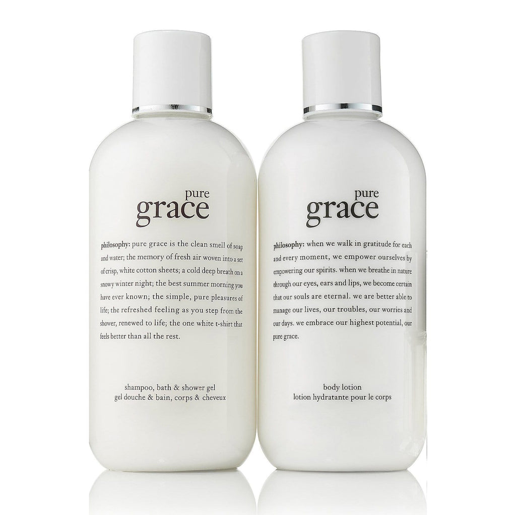 Philosophy Bath & Body Set 2-piece pure grace set