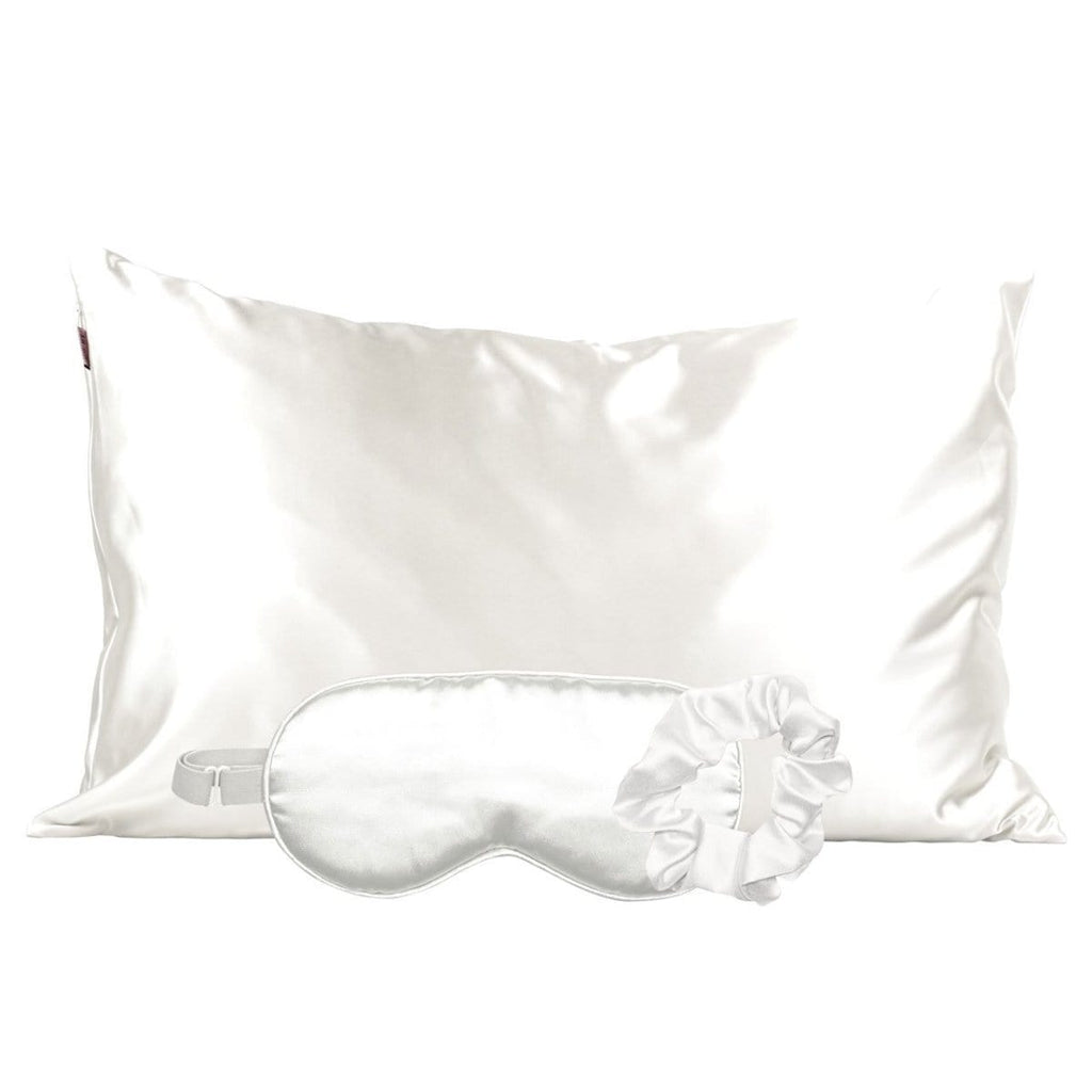 Kitsch Pillowcase Set Satin Sleep Set - Ivory
