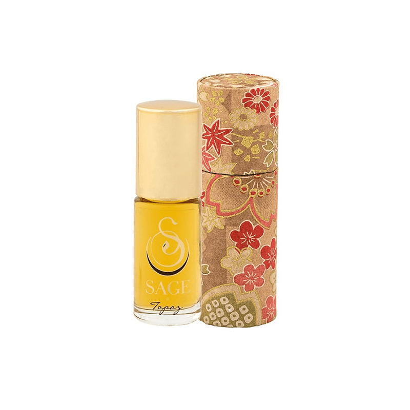 the SAGE lifestyle Perfume Oil Topaz Perfume Oil Roll-On by Sage