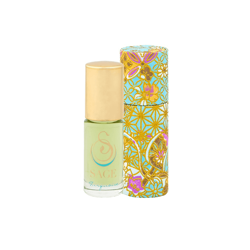 the SAGE lifestyle Perfume Oil Turquoise Perfume Oil Roll-On by Sage