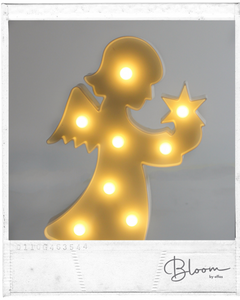 Figura Decorativa c/Luces