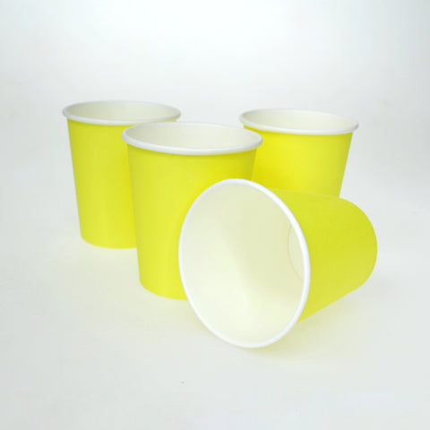 Vaso Liso Color Amarillo