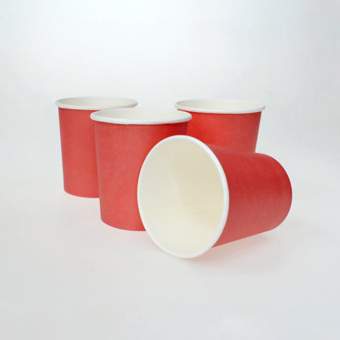Vaso Liso Color Rojo