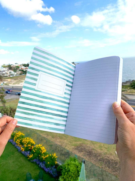 "Cuaderno con lomo ""Travel Mood"""