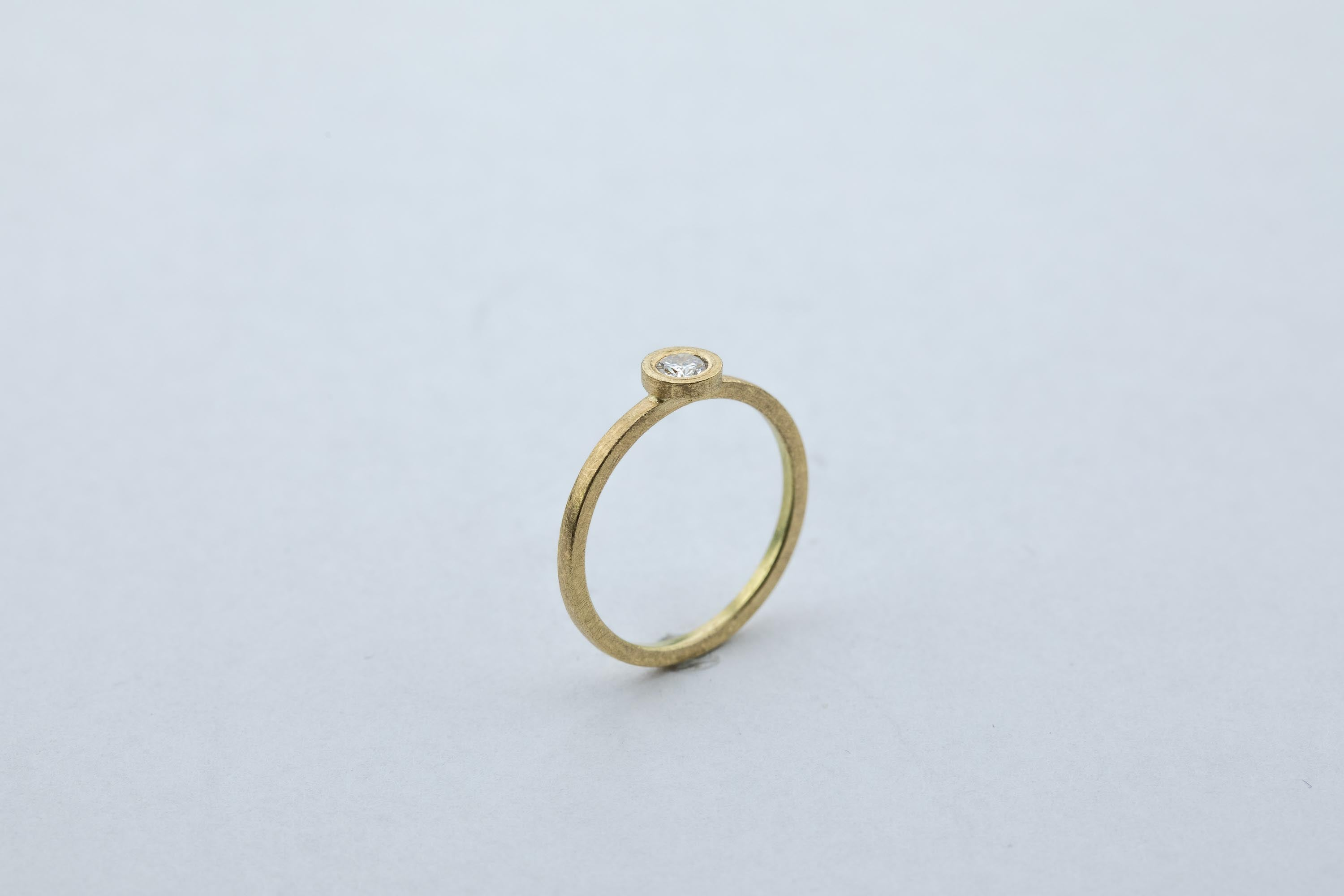 Ring, Brillant, 750/000 Gold