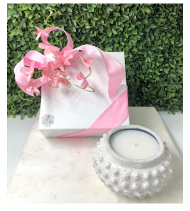 Mother's Day Wrapped Gift ~Small Hobnail
