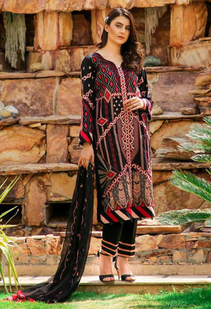 DH-011 - Embroidered Lawn Unstitched