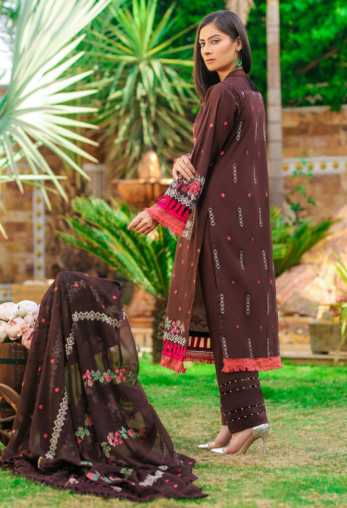 DH-019 - Embroidered Lawn Unstitched