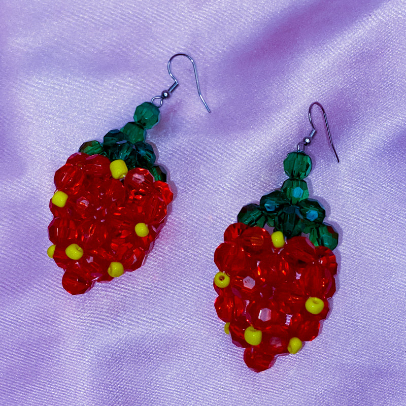 Sweet Beaded Earrings