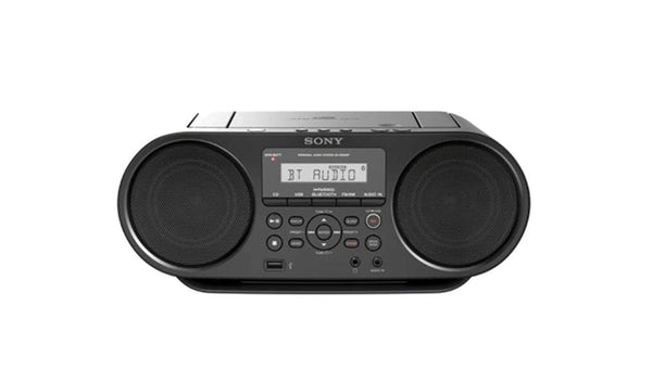 Sony ZS-RS60BT CD Boombox with Bluetooth FM Radio/CD/USB Playback/Aux In