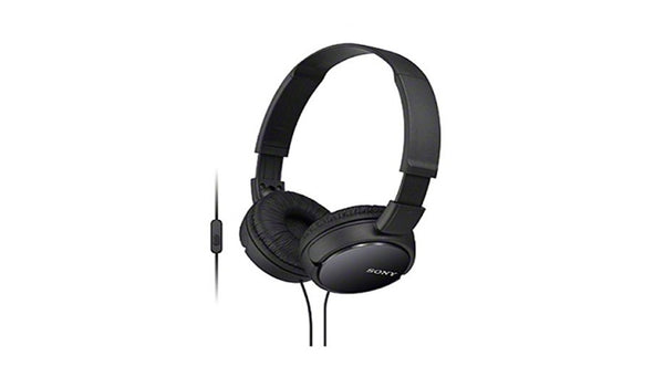 SONY MDR-ZX110AP (Black) Headphones with Microphone