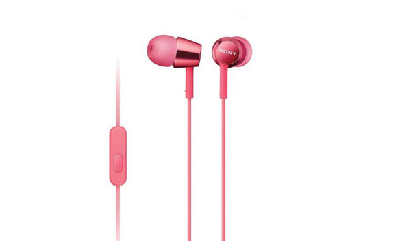 SONY MDR-EX155AP (Pink) In-ear Headphones with Microphone