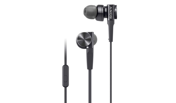 Sony MDR-XB75AP (Black) EXTRA BASS™ In-ear Headphones with Microphone