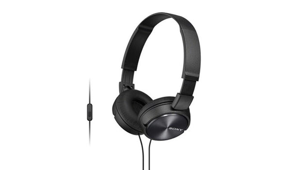 SONY MDR-ZX310AP (Black) Headphones with Microphone