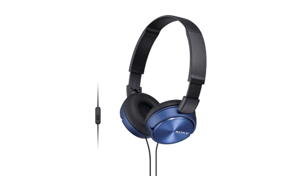 SONY MDR-ZX310AP (Blue) Headphones with Microphone