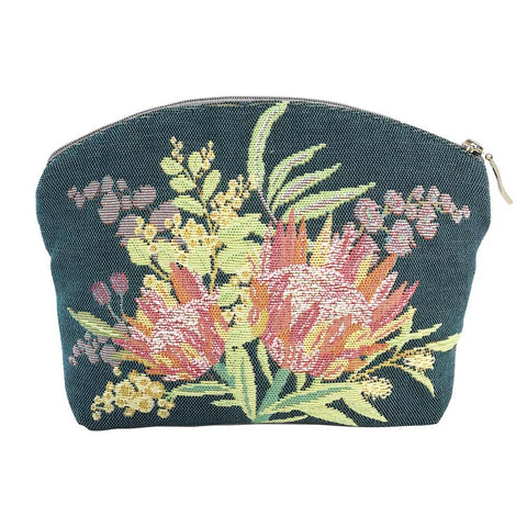 Annabella French Tapestry Cosmetic Bag  Aussie Flora