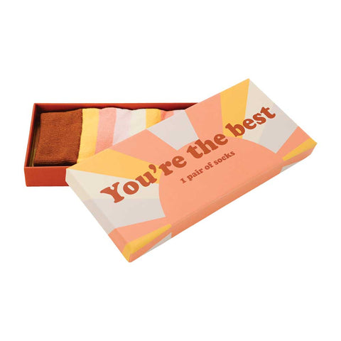 Socks - Youre The Best - Boxed