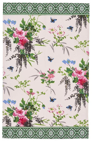 Madame Butterfly Tea Towel