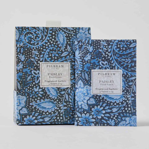 Paisley Scented Mini Sachets