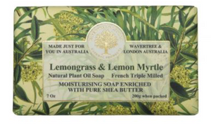 LEMONGRASS & LEMON MYRTLE SOAP BAR