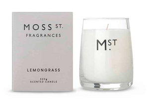 LEMONGRASS SCENTED SOY CANDLE