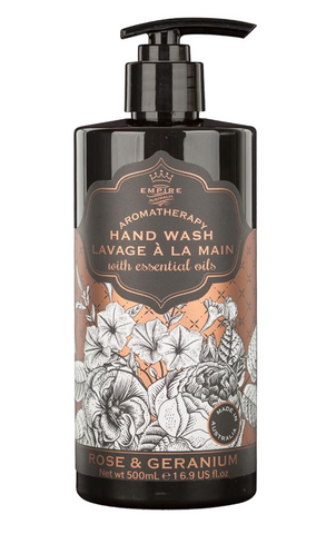 Botanicals Hand Wash Rose & Geranium 500ml