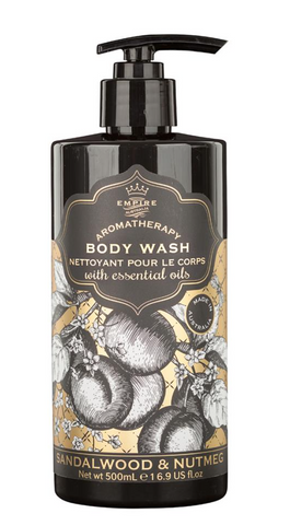 Botanicals Body Wash Sandalwood & Nutmeg 500ml