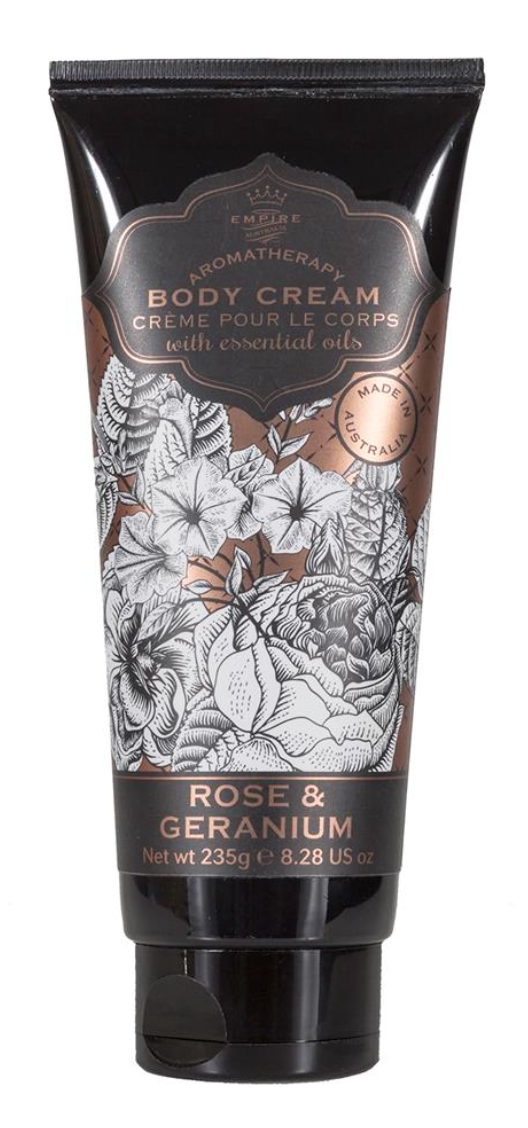 Botanicals Body Cream Rose & Geranium 235g